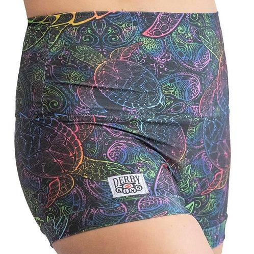 Rainbow Sea Turtles Shorts