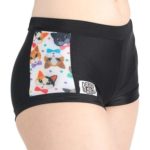 Fancy Cat Shorts