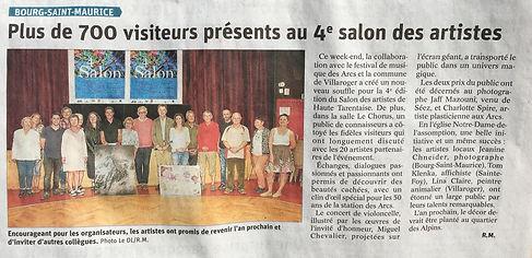 salon artistes HauteTarentraise juill201