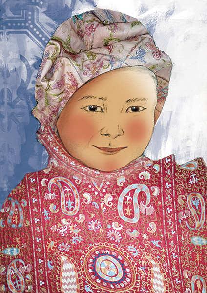 Enfant d'Asie Centrale