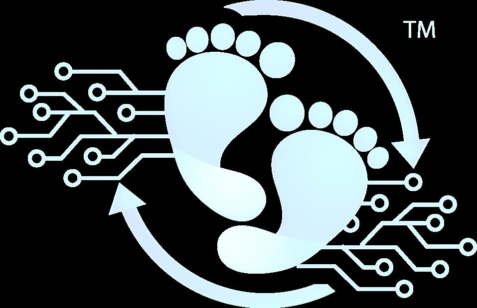 Footprint marketing solutions digtial marketing web design logo