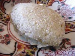 粗挽き蕎麦掻