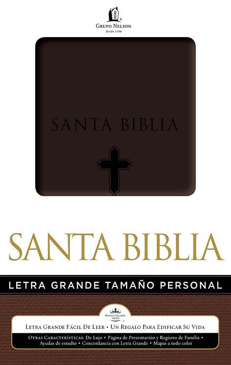 Biblia Nelson Letra Grande Tamaño Personal Café