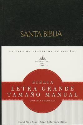 Biblia Holman Tamaño Manual Letra Grande