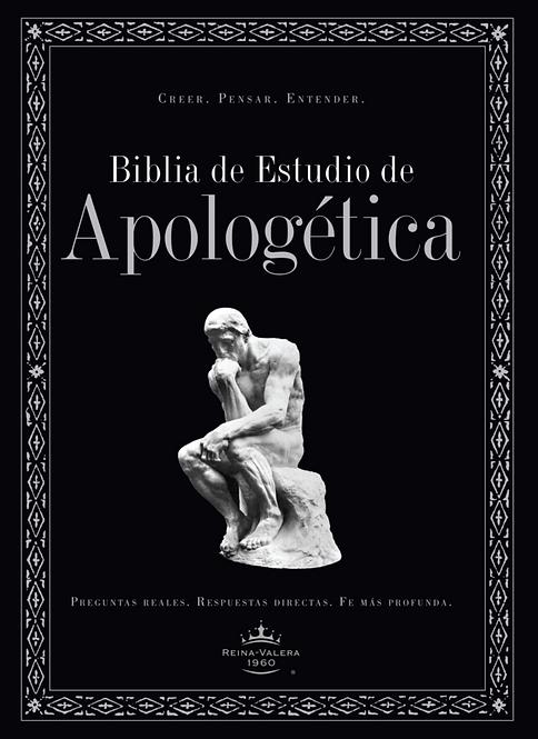 Biblia de Estudio Apologética Tapa Dura