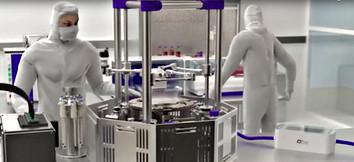 sala de bioimpressão