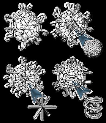 Microscaffolds (Lockyballs) para Engenharia Tecidual