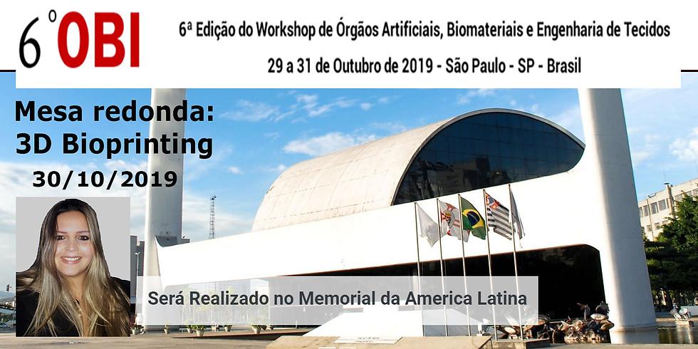 Workshop de Orgãos Artificiais, Biomateriais e Engenharia de Tecidos (OBI)