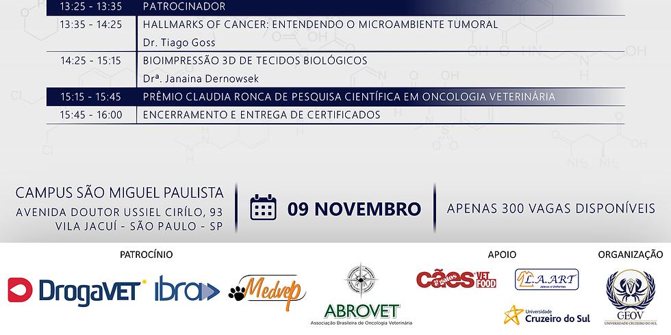 IV Simpósio de Oncologia Veterinária