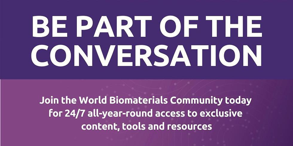 11TH WORLD BIOMATERIALS CONGRESS