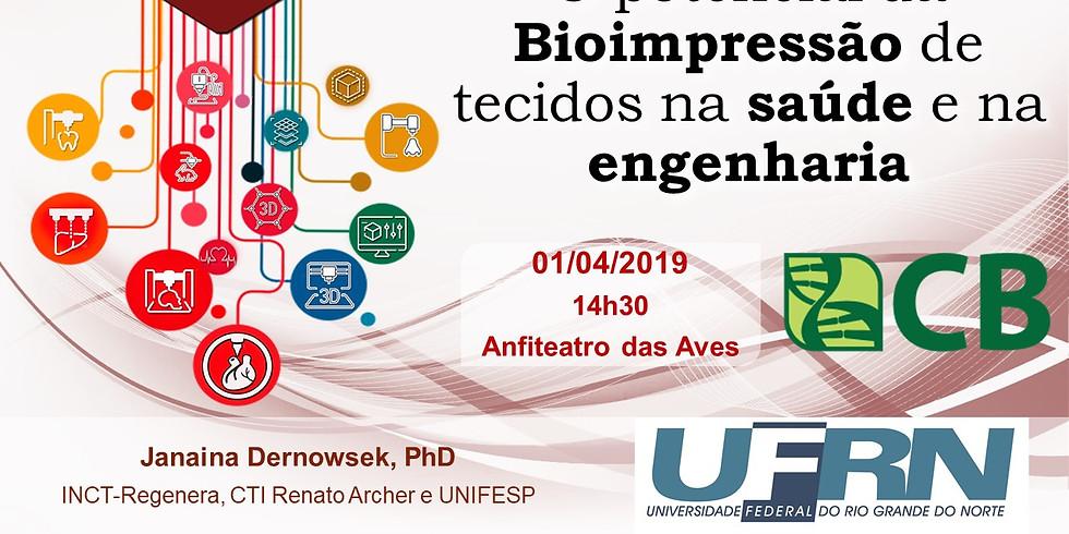 O potencial da Bioimpressão de tecidos na saúde e na engenharia