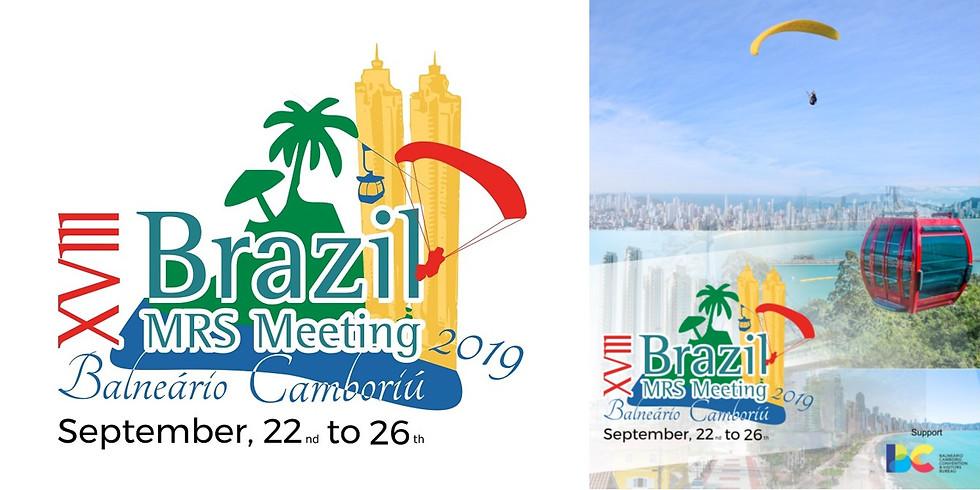 XVIII Brazilian MRS meeting