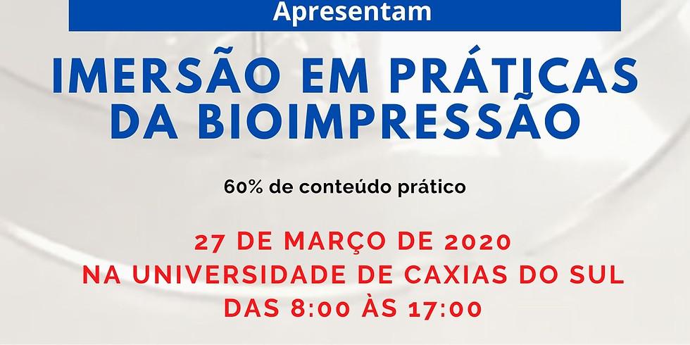 CURSO DE IMERSÃO EM BIOIMPRESSÃO - BIOEDTECH E UCS