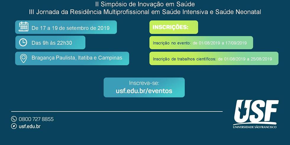 Congresso Interdisciplinar em Saúde da Universidade São Francisco: Por uma ciência aberta, acessível e cidadã