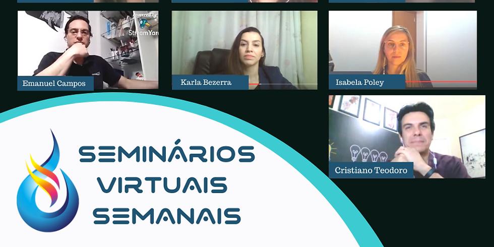 Seminários Virtuais Bioedtech - Como Funciona Uma Bioimpressora