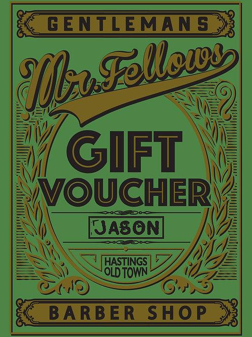 Beard Tamer Gift Voucher