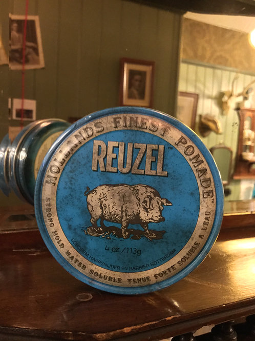 Reuzel Blue Pomade - Strong Hold/High Shine -113g