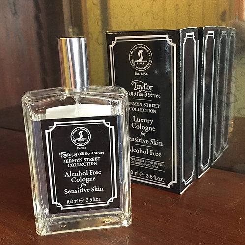Mr Taylor's Alcohol Free Cologne for Sensitive Skin 100ml