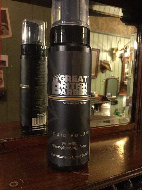 Great British Barber Liquid Volume Foam.200ml