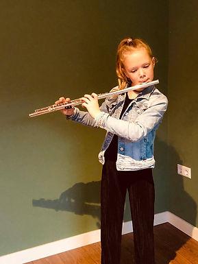 Afsluitend concert fluitleerlingen van Lia Koolmees