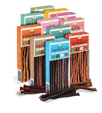 JR Pure treat sticks- assorted flavours