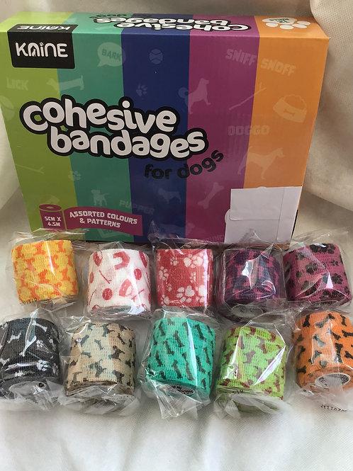 Cohesive Bandage 5cm patterned