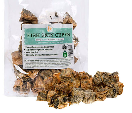 JR Fish Skin Cubes 75g