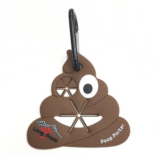 Poop Porter Poop bag holder