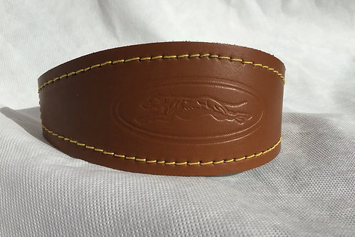 Leather Collar with Emblem *SALE*