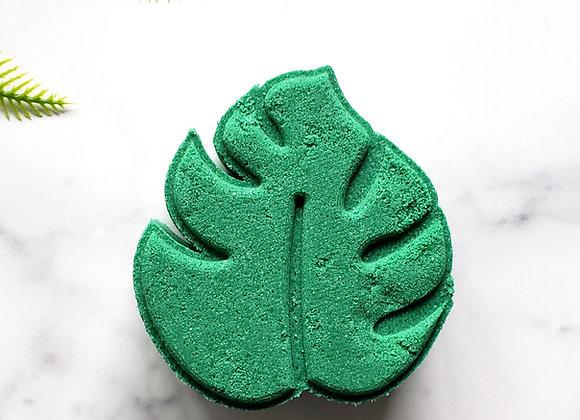 Monstera Leaf Bath Bomb