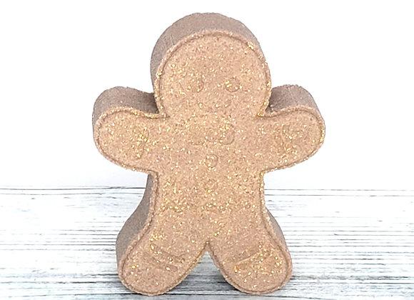 Gingerbread Man Bath Bomb
