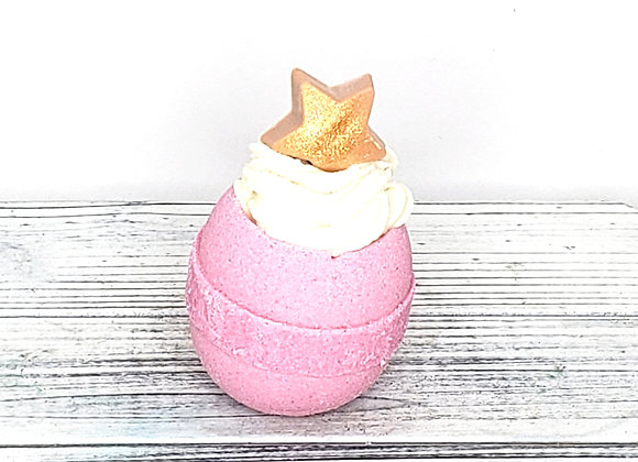 Pink Power Bath Bomb