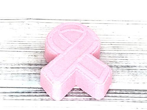 Pink Ribbon Bath Bomb