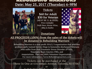 Fundraiser for Rebuilding Warriors