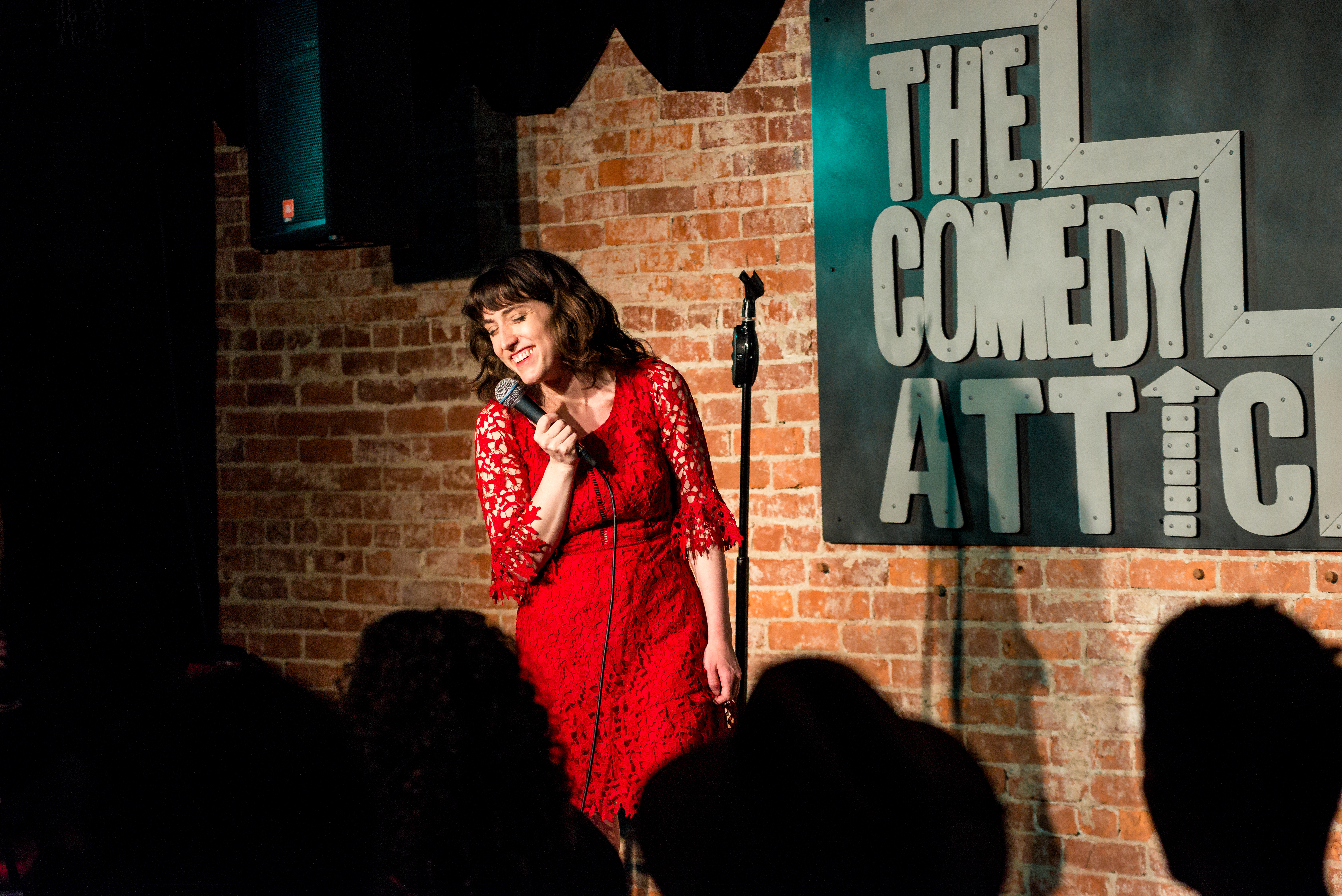 Kate Willett at Comedy Attic