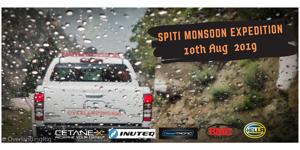 Spiti Monsoon Expedition