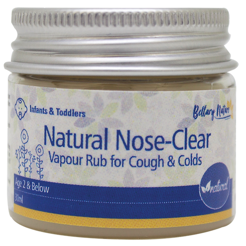 Natural Vapour Rub Medium (Below 2 Years Old) 60ml