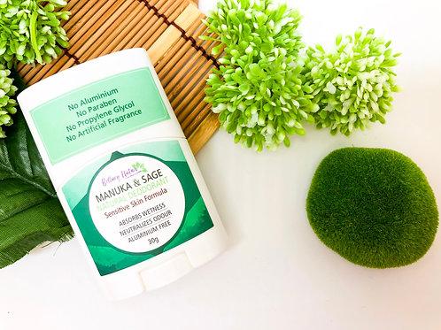 Manuka & Sage Natural Deodorant 30g