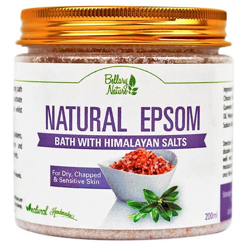 Epsom & Himalayan Bath Salts (200g)