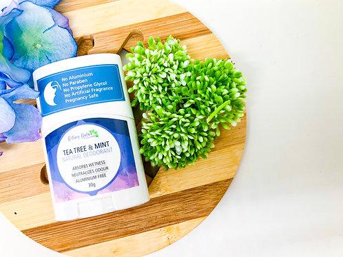 Tea Tree & Mint Natural Deodorant 30g
