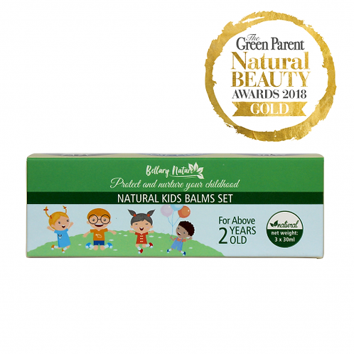 Natural Kids Balms Set (Above 2 years old)