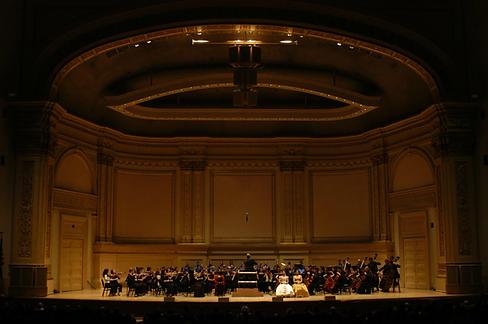 Geeta Novotny at Carnegie Hall