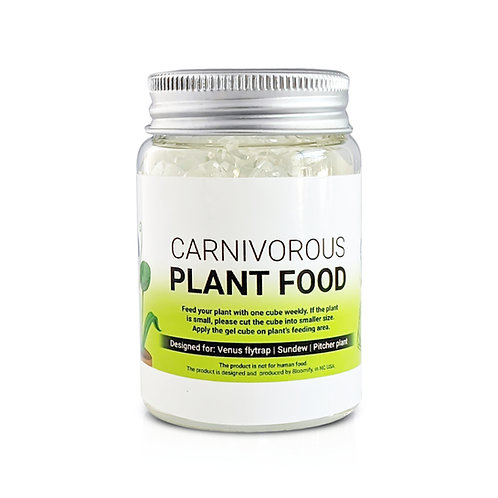 Carnivorous Plant Food, Designed for Venus Flytrap, Sundew, Pitcher Plant, 2.5oz
