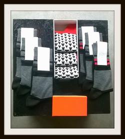 Brownie and Blondie Socks
