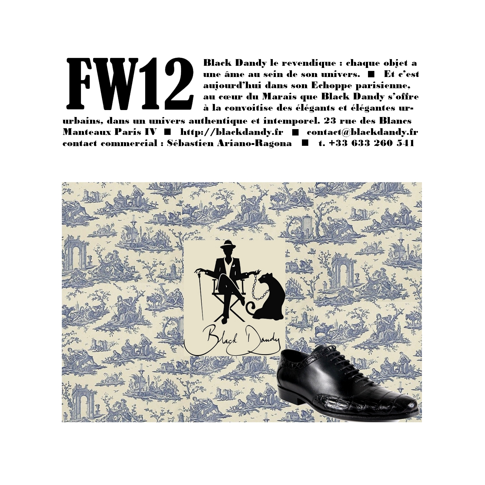 Black Dandy FW12 2