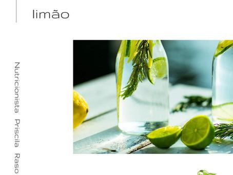 O poder da água com limão