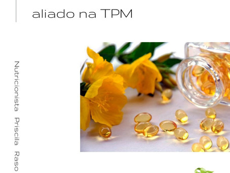 Óleo de prímula como aliado na TPM