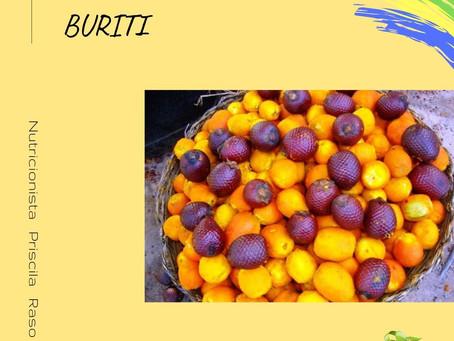 Frutas brasileiras: Buriti
