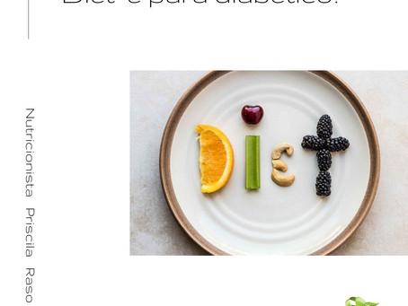 """""""Diet"""" é para diabético?"""