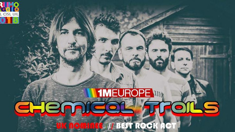 We're in the European Final!In nomination as Best Rock Act